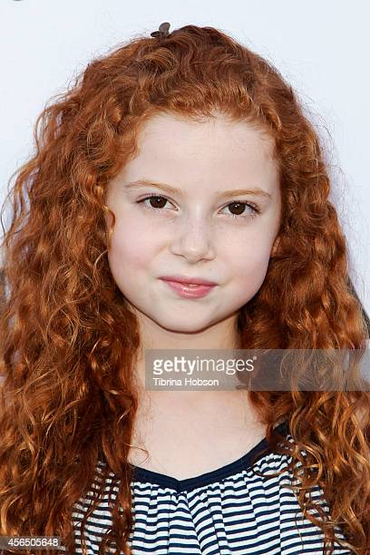 Francesca Capaldi attends the Disney's VIP Halloween event at Disney Consumer Products Campus on October 1 2014 in Glendale California