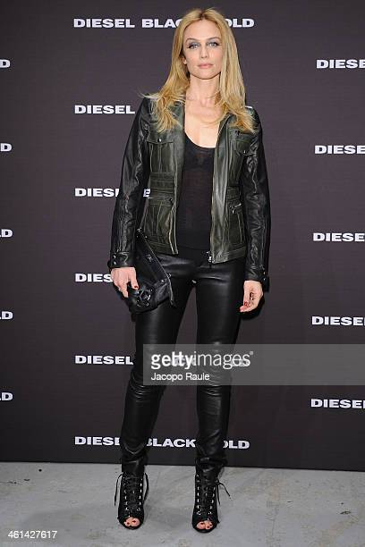 Francesca Cavallin attends Diesel Black Gold fashion show during Pitti Immagine Uomo 85 on January 8 2014 in Florence Italy