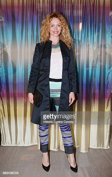Francesca Cavallin attends Missoni 'Wonderland' during the Milan Design Week on April 8 2014 in Milan Italy
