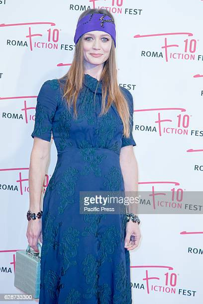 Francesca Cavallin during the Second Day for Roma Fiction Fest 10 The Space Cinema Moderno on the Red Carpet of the movie 'From father to daughter' a...