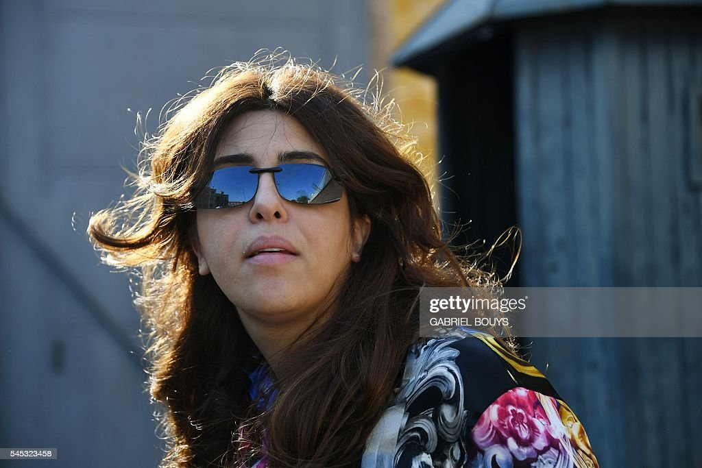 Francesca Chaouqui leaves Vatican City on July 7 2016 after the verdict in the 'Vatileaks' trial Two investigative journalists at the heart of a...