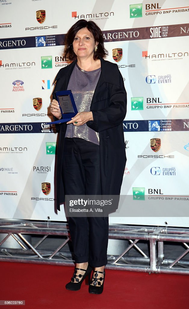 Francesca Cima attends Nastri D'Argento 2016 Award Nominations at Maxxi on May 31, 2016 in Rome, Italy.
