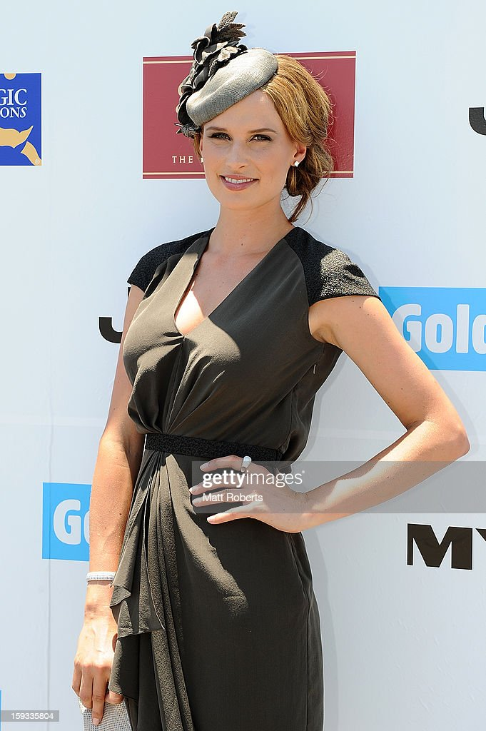 Francesca Cumani attends Magic Millions Raceday at Gold Coast Turf Club on January 12, 2013 on the Gold Coast, Australia.