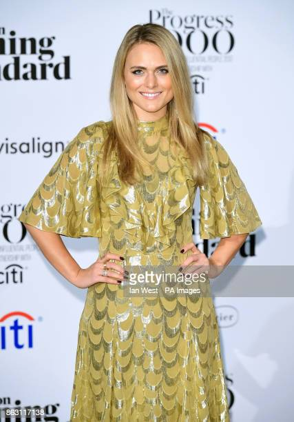 Francesca Dutton at the London Evening Standard's annual Progress 1000 in partnership with Citi and sponsored by Invisalign UK held in London