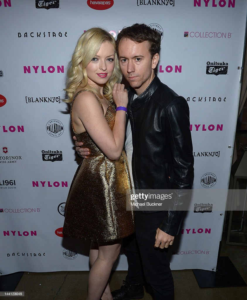 Francesca Eastwood and photographer Tyler Shields attends the NYLON Magazine and Tommy Girl Annual May Young Hollywood Issue Party at Hollywood...