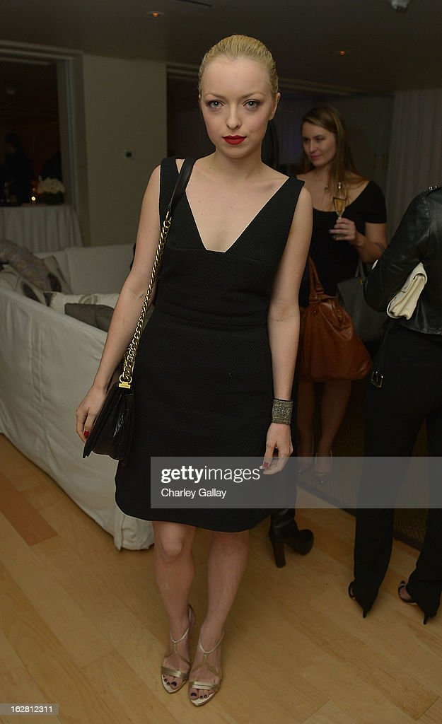 Francesca Eastwood attends Rachel Roy Celebrates the New Host of 'Fashion Star' Louise Roe at Mondrian Los Angeles on February 27, 2013 in West Hollywood, California.