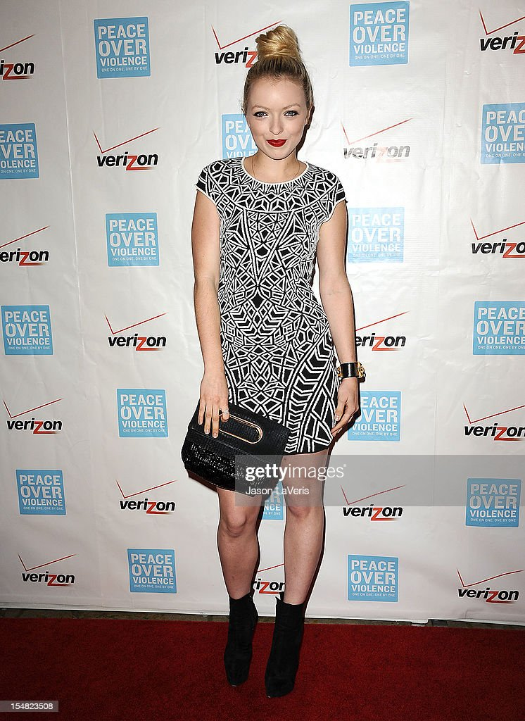 Francesca Eastwood attends the 41st annual Peace Over Violence Humanitarian Awards at Beverly Hills Hotel on October 26, 2012 in Beverly Hills, California.