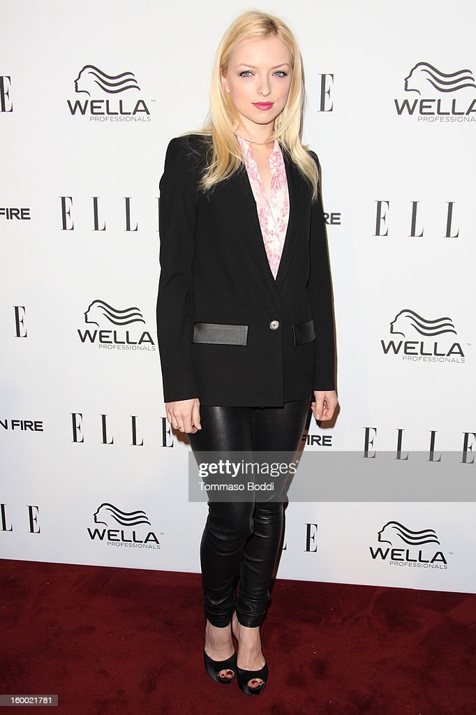 Francesca Eastwood attends the ELLE Women in Television Celebration presented by Hearts on Fire Diamonds and Wella Professionals held at Soho House on January 24, 2013 in West Hollywood, California.