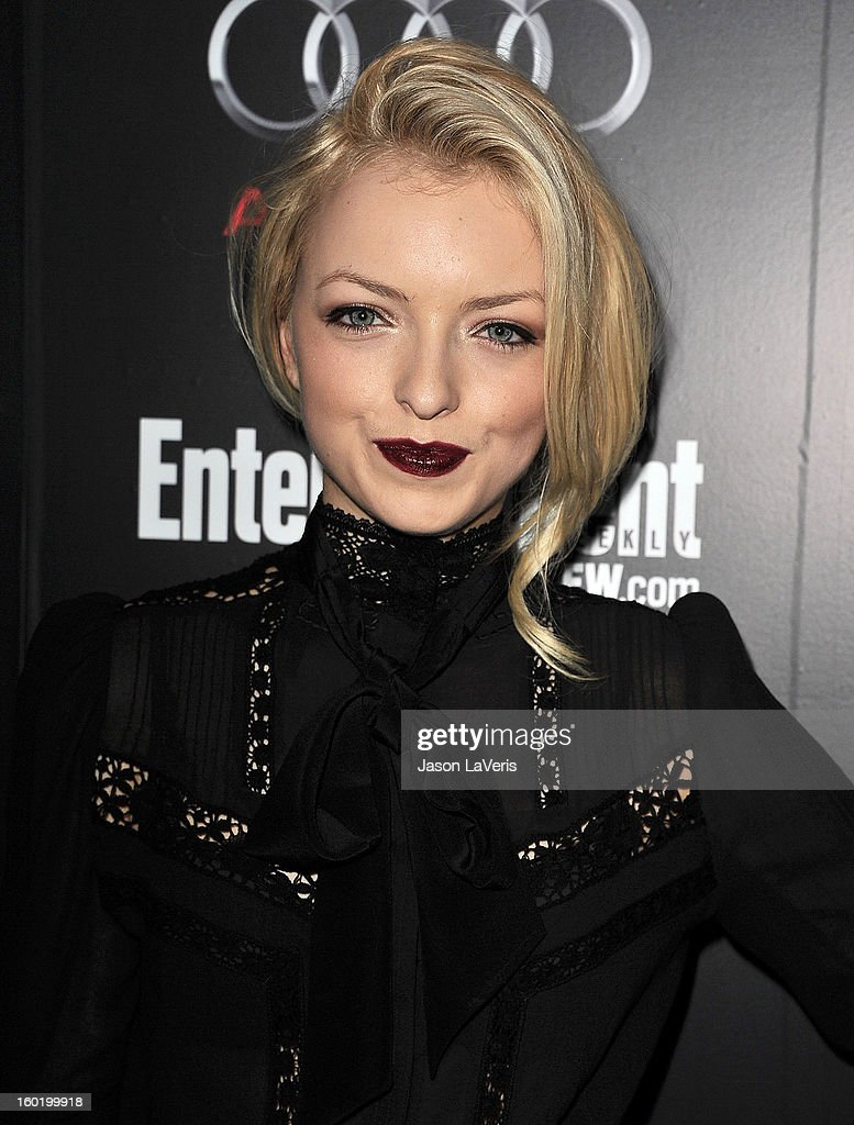 Francesca Eastwood attends the Entertainment Weekly Screen Actors Guild Awards pre-party at Chateau Marmont on January 26, 2013 in Los Angeles, California.