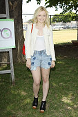 Francesca Eastwood attends The Environmental Media Association's 3rd Annual Garden Luncheon held at Carson Senior High School on June 6 2012 in...