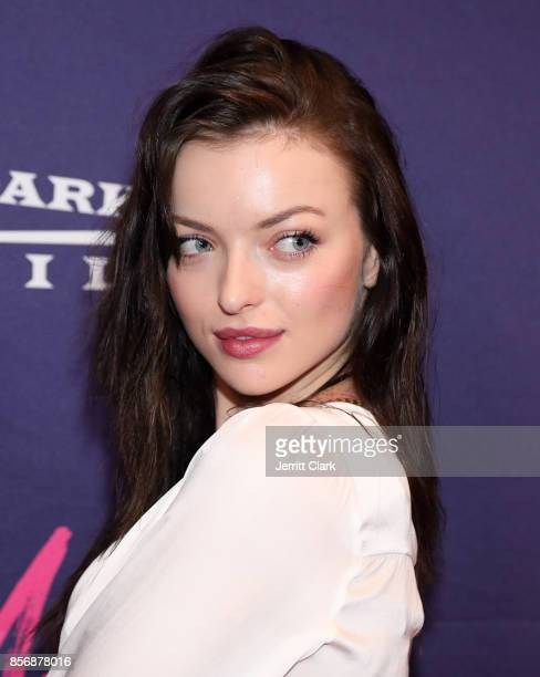 Francesca Eastwood attends the Premiere Of Dark Sky Films' 'MFA' at The London West Hollywood on October 2 2017 in West Hollywood California