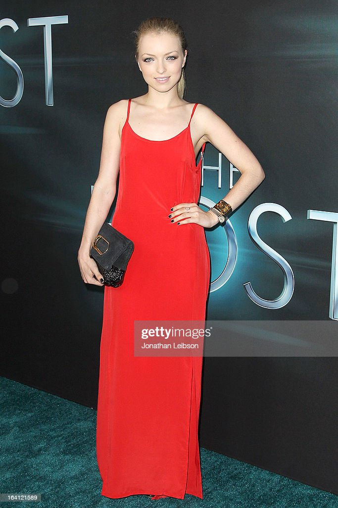 Francesca Eastwood attends the 'The Host' - Los Angeles Premiere at ArcLight Cinemas Cinerama Dome on March 19, 2013 in Hollywood, California.