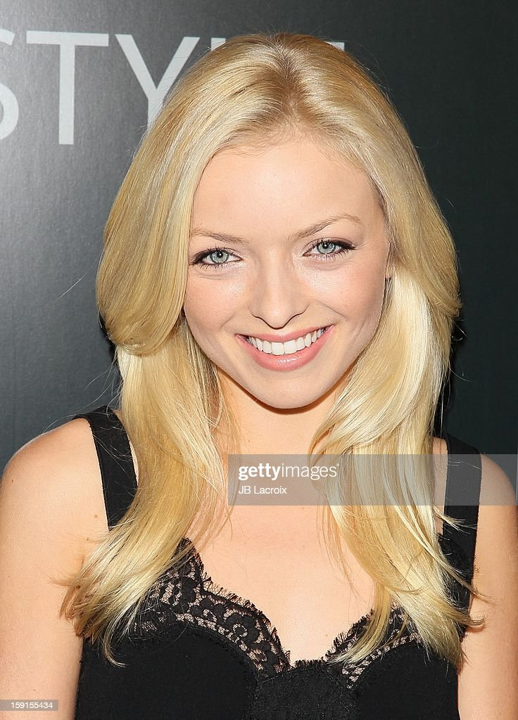 Francesca Eastwood attends the W Magazine & Guess Host 30 Years of Fashion & Film Next Generation of Style Party at Laurel Hardware on January 8, 2013 in West Hollywood, California.
