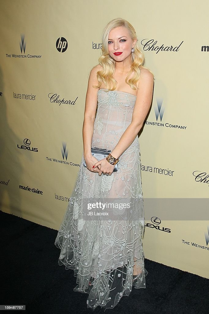 Francesca Eastwood attends The Weinstein Company's 2013 Golden Globes After Party at The Beverly Hilton Hotel on January 13, 2013 in Beverly Hills, California.