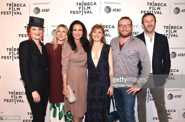 Francesca Faridany Dree Hemingway Andie MacDowell Juliet Rylance James Adomian and Chris O'Dowd attend 'Love After Love' premiere during the 2017...