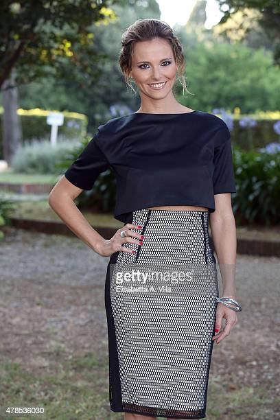 Francesca Fialdini attends RAI Yearly TV Show Schedule at Villa Piccolomini on June 25 2015 in Rome Italy