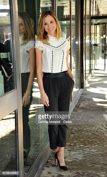 Francesca Fialdini attends 'Zecchino d'Oro' Photocall on November 16 2016 in Rome Italy
