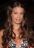 Francesca Fioretti wearing Calzedonia attends 'Sfilata D' Amore e Moda' at Trepponti on June 17 2009 in Comacchio Italy