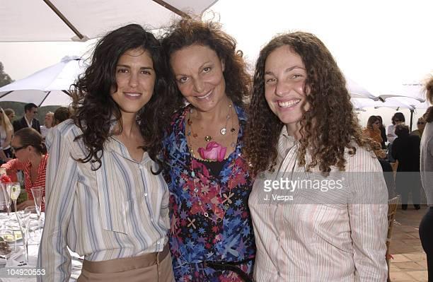 Francesca Gregorini Diane von Furstenberg and Tatiana von Furstenberg