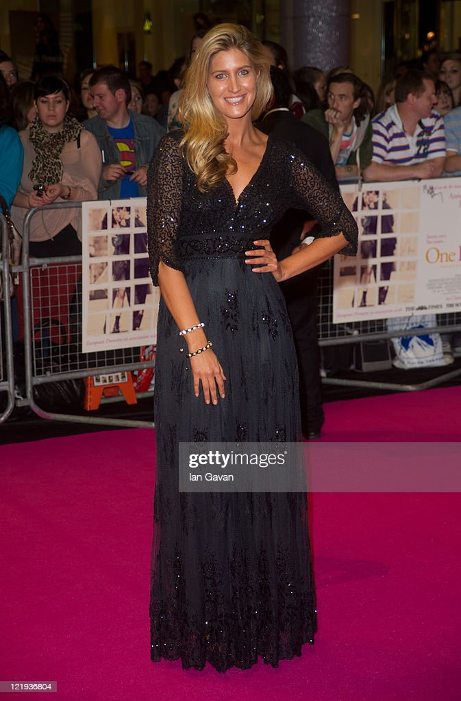Francesca Hull attend the European premiere of 'One Day' at Vue Westfield on August 23, 2011 in London, England.