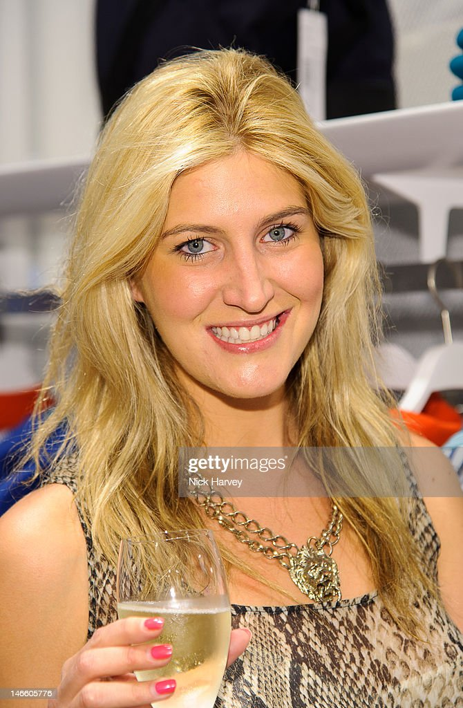 Francesca Hull attends the launch of the Lacoste flagship store on June 20, 2012 in London, England.