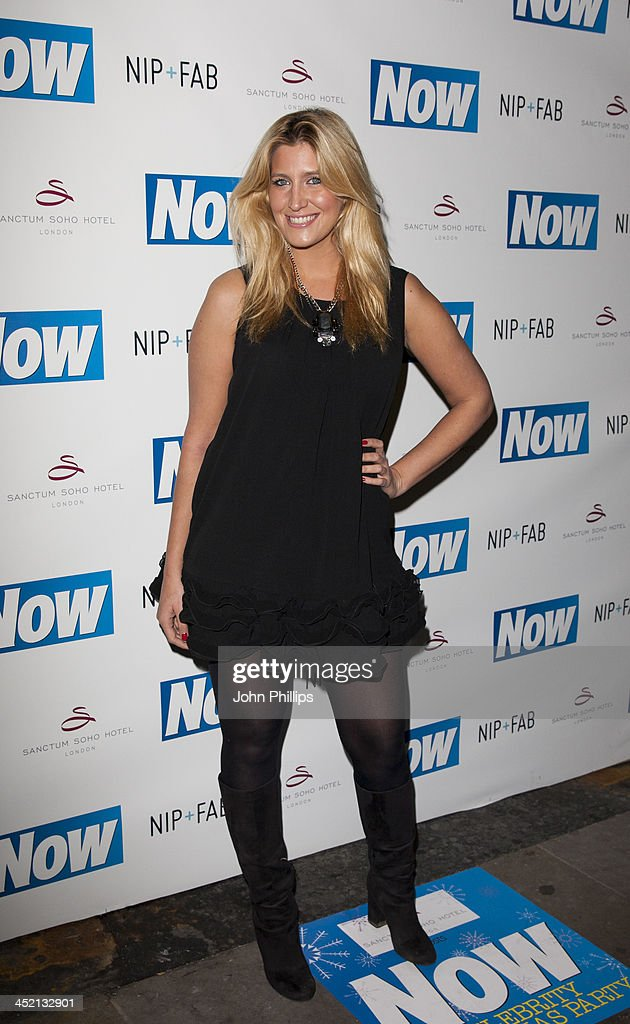Francesca Hull attends the Now Magazine Christmas party at Soho Sanctum Hotel on November 26, 2013 in London, England.