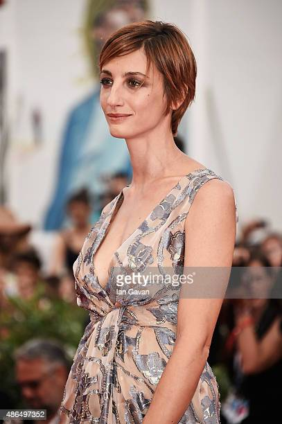 Francesca Inaudi attends a premiere for 'Black Mass' during the 72nd Venice Film Festival at on September 4 2015 in Venice Italy