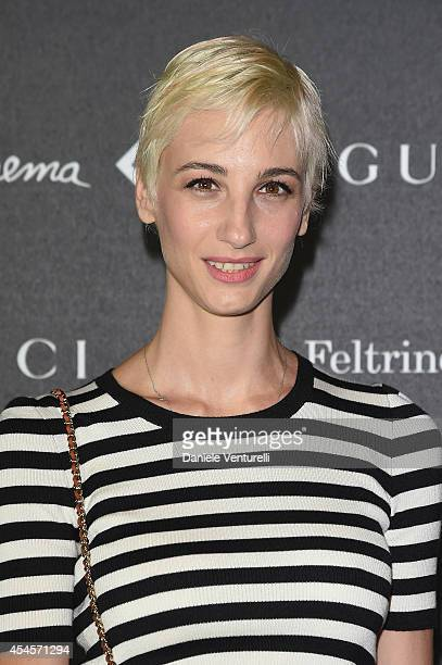Francesca Inaudi attends The Space Movies Universal Pictures Italia Feltrinelli Real Cinema And Gucci Present The Italian Premiere Of 'The Director...