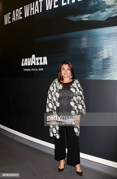 Francesca Lavazza attends the 2017 Lavazza Calendar Presentation on September 20 2016 in Milan Italy