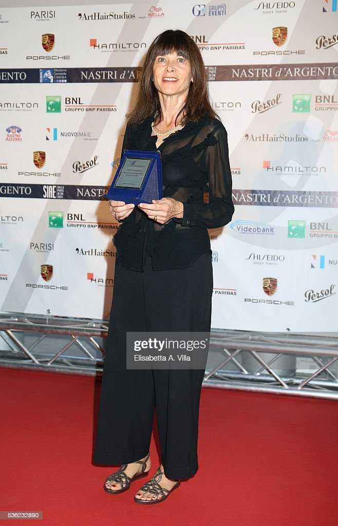 Francesca Marciano attends Nastri D'Argento 2016 Award Nominations at Maxxi on May 31, 2016 in Rome, Italy.