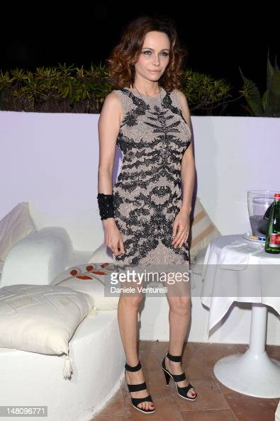Francesca Neri attends Day 2 of the 2012 Ischia Global Fest on July 9 2012 in Ischia Italy