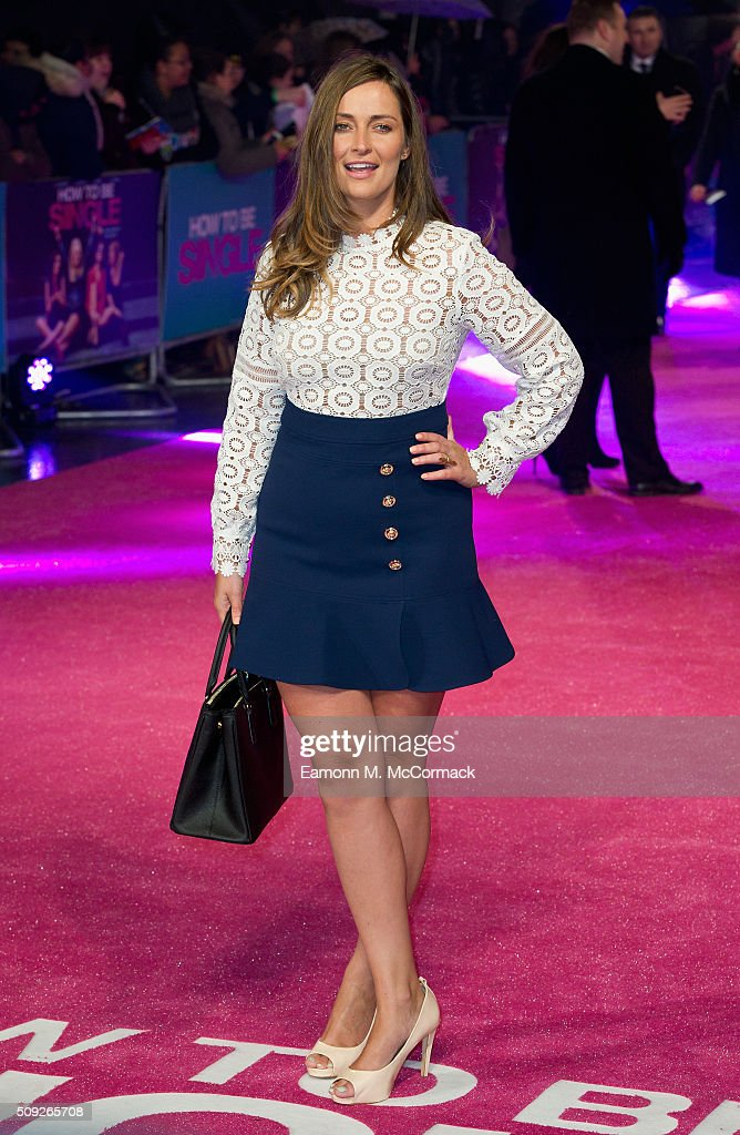 Francesca Newman Young attends the European Premiere of 'How To Be Single' at Vue West End on February 9 2016 in London England