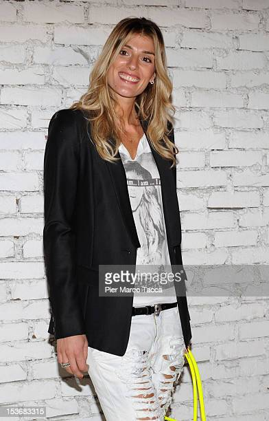 Francesca Piccinini attends 2012 Elite model look Italia photocall on October 8 2012 in Milan Italy