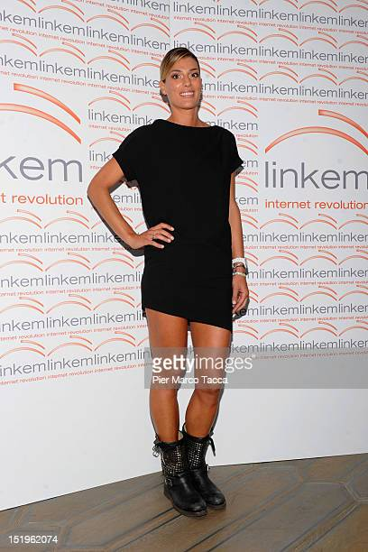 Francesca Piccinini attends at Linkem photocall on September 13 2012 in Milan Italy