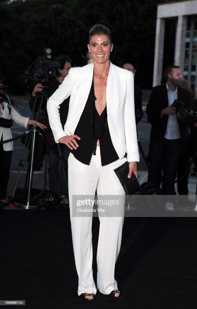 Francesca Piccinini attends 'One Night Only' Roma hosted by Giorgio Armani at Palazzo Civilta Italiana on June 5 2013 in Rome Italy