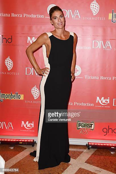 Francesca Piccinini attends the Diva Donna Party during the 73rd Venice Film Festival at Centurion Hotel on September 7 2016 in Venice Italy