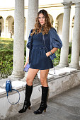 Alberta Ferretti - Front Row - Milan Fashion Week -...