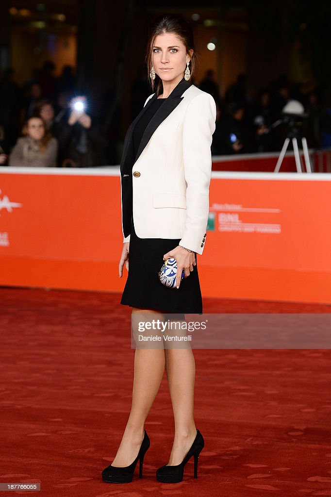 Francesca Valtorta attends 'Out Of The Furnace' Premiere during The 8th Rome Film Festival on November 12, 2013 in Rome, Italy.