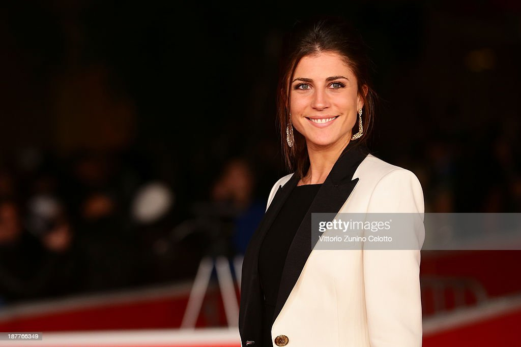 Francesca Valtorta attends 'Out Of The Furnace' Premiere during The 8th Rome Film Festival at Auditorium Parco Della Musica on November 12, 2013 in Rome, Italy.