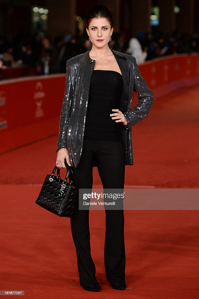 Francesca Valtorta attends 'Romeo And Juliet' Premiere during The 8th Rome Film Festival on November 11, 2013 in Rome, Italy.