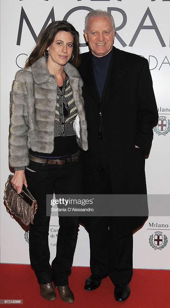 Francesca Vercace and Santo Versace attend the opening of new exhibition space at Palazzo Morimondo dedicated to fashion and costume on March 1, 2010 in Milan, Italy.