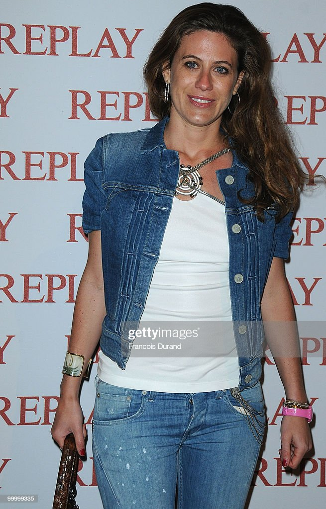 Francesca Versace arrives for the 'Replay Party' during the 63rd Annual Cannes Film Festival at the Style Star Lounge on May 19, 2010 in Cannes, France.