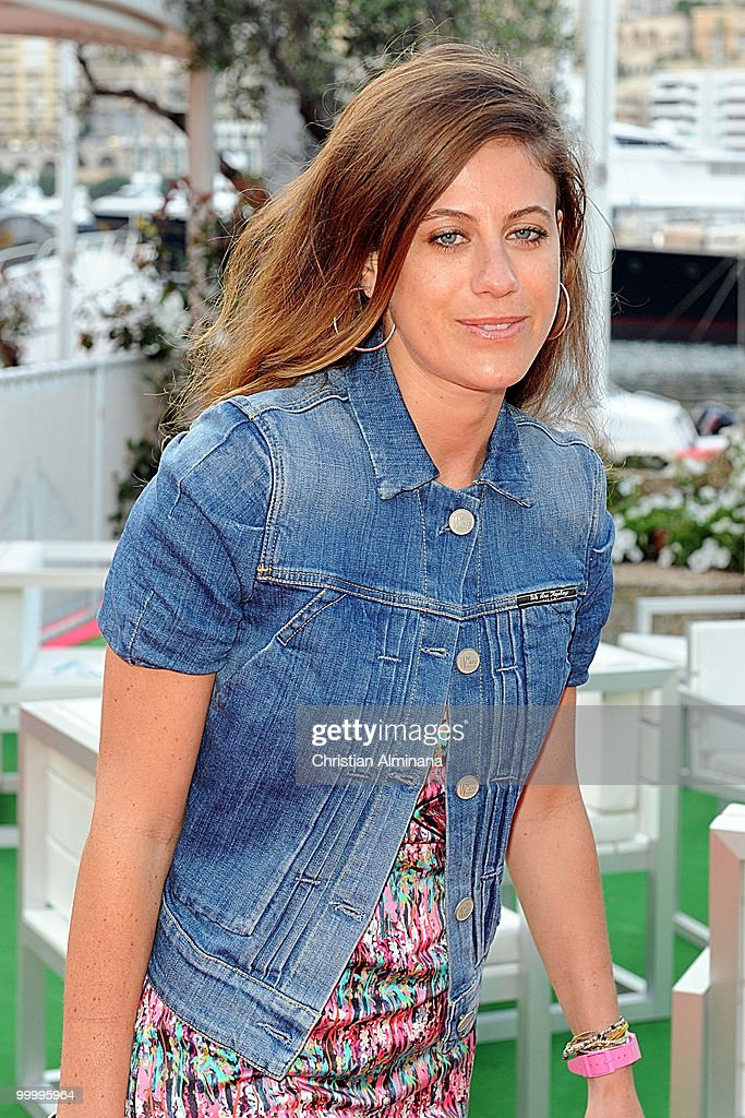 Francesca Versace attends Graffiti Au Yacht Club De Monaco, paint exhibition, on May 19, 2010 in Monaco, Monaco.