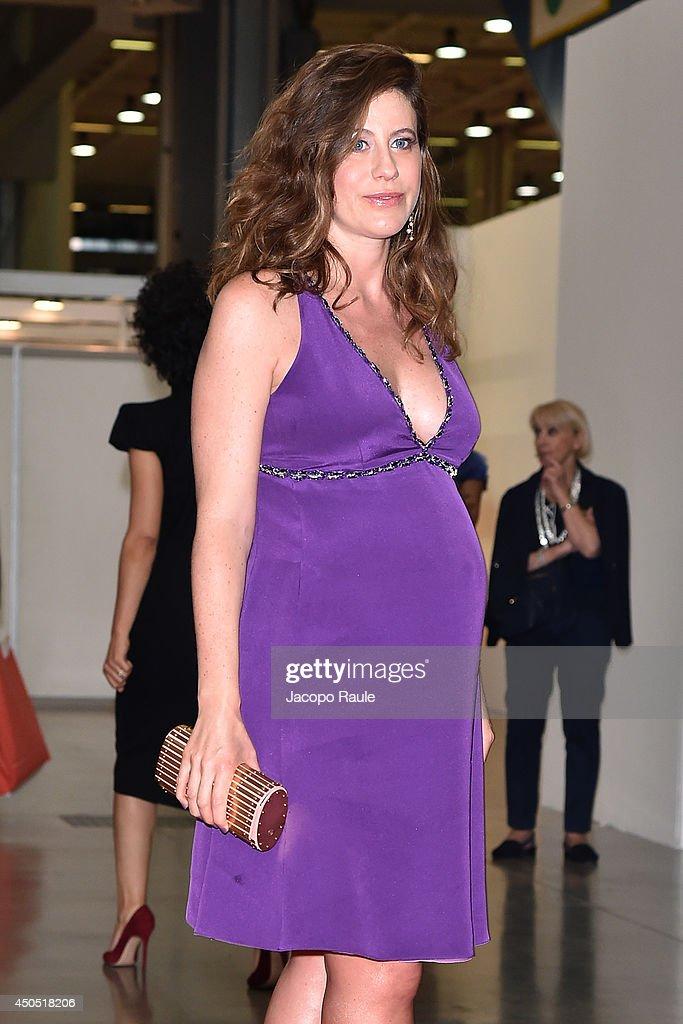Francesca Versace attends the Convivio 2014 on June 12, 2014 in Milan, Italy.