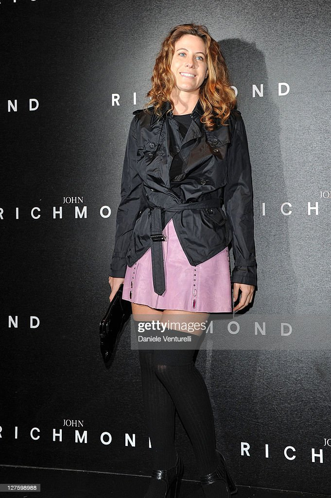 Francesca Versace attends the John Richmond Fashion Show as part of Milan Fashion Week Womenswear Autumn/Winter 2011 on February 23, 2011 in Milan, Italy.