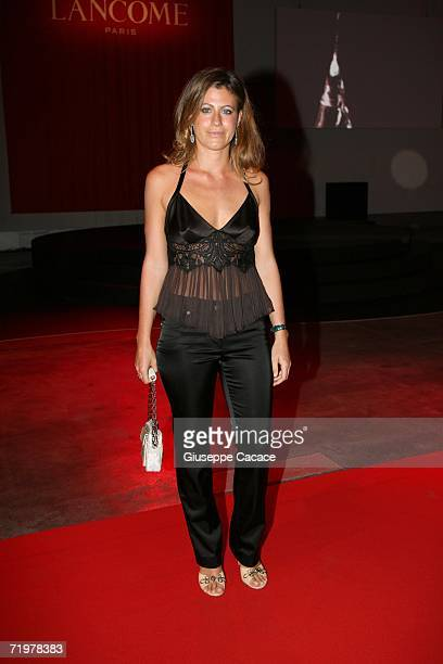 Francesca Versace attends the Lancome Party at the Pelota on September 23 2006 in Milan Italy