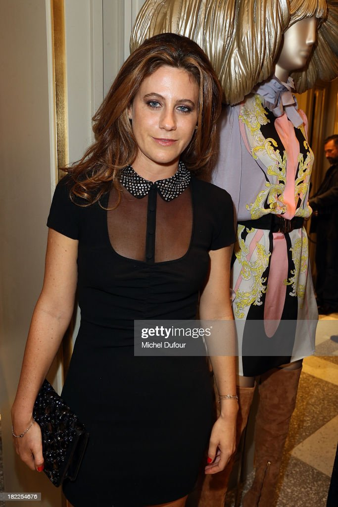 Francesca Versace attends The Opening Of Pucci New Boutique At 46/48 Avenue Montaigne on September 28, 2013 in Paris, France.