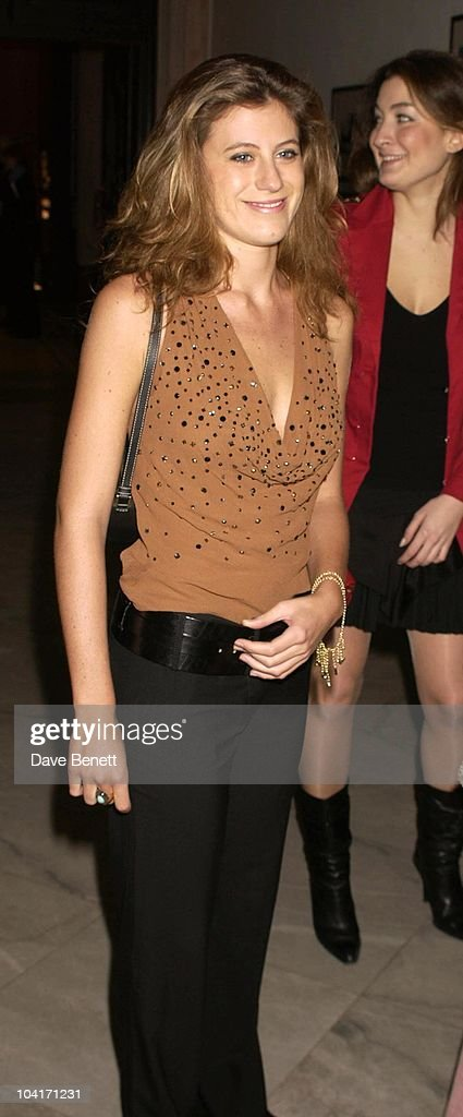 Francesca Versace (niece Of The Late Gianni Versace), Fashion Photographer Mario Testino Attracted All The Most Glamorous Women In London To His Exhibition At The National Portrait Gallery.