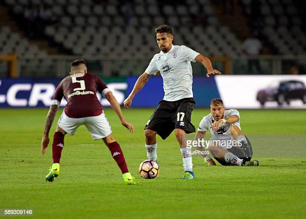 Francesco Ardizzone during Tim Cup 20162017 match between Torino FC and FC Pro Vercelli at the Olympic Stadium of Turin on august 013 2016 in Torino...