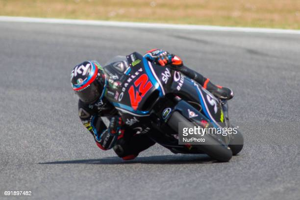 Francesco BAGNAIA ITA SKY Racing Team VR46 during the Day1 Free Practice at the Mugello International Cuircuit for the sixth round of MotoGP World...